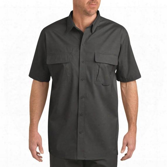 Dickies Men's Short Sleeve Ventilated Ripstop Tactical Shirt