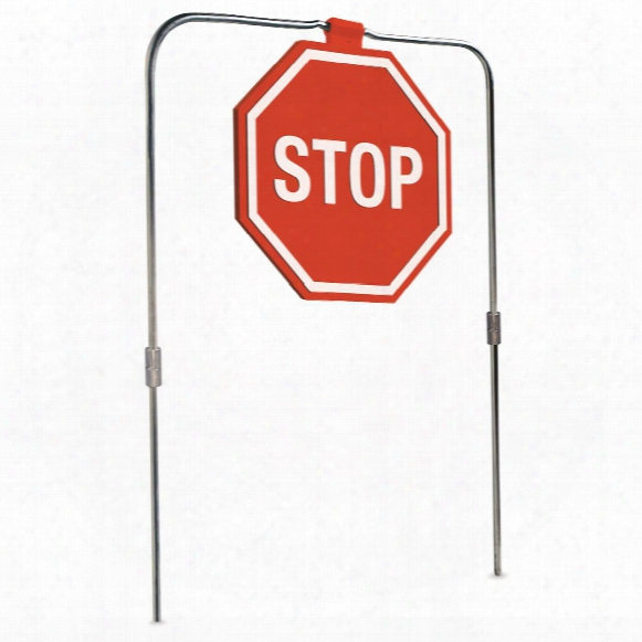 Do-all Outdoors Self-healing Stop Sign Shooting Target