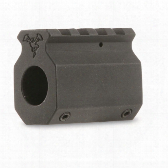 "Doublestar Ar-15 Picatinny Rail Gas Block, .6255"" Distance Through The Centre , Lightweight"