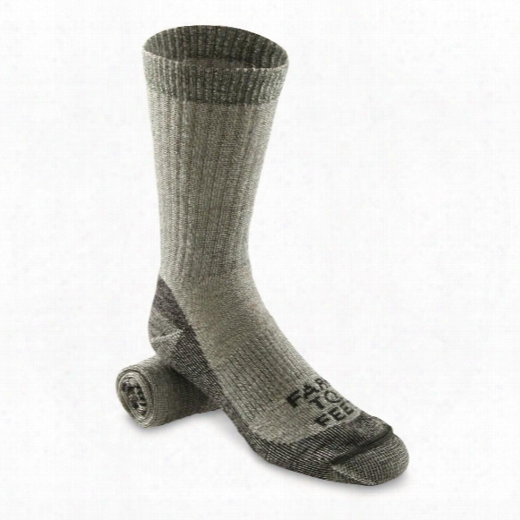 Farm To Feet Men's Boulder Medium Weight Socks
