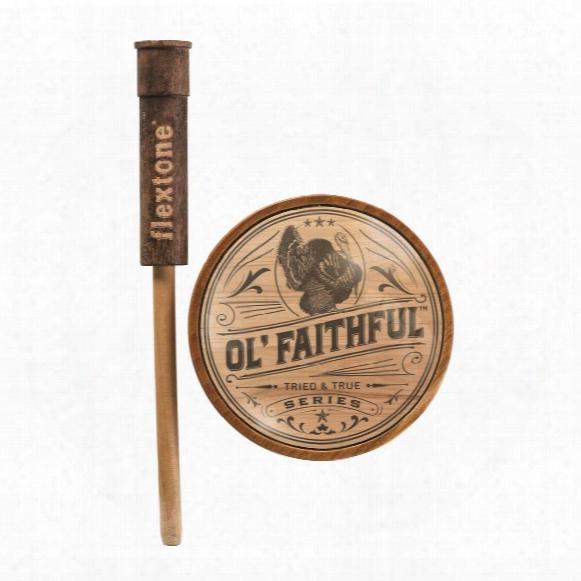 Flextone Ol' Faithful Glass Pot Turkey Call
