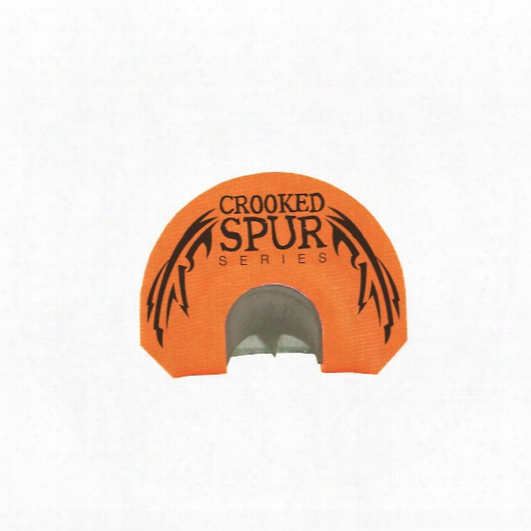 Foxpro Crooked Spur Orange Bat Diaphragm Turkey Call