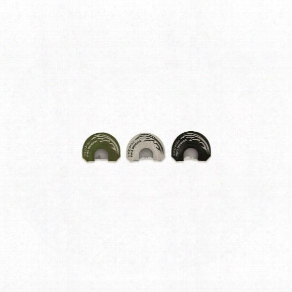 Foxpro Crooked Spur Pro Series Diaphragm Turkey Calls, 3 Pack