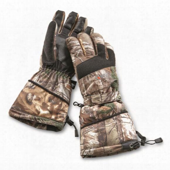 Guide Gear Touchscreen Friendly Waterproof Gauntlet Hunting Gloves