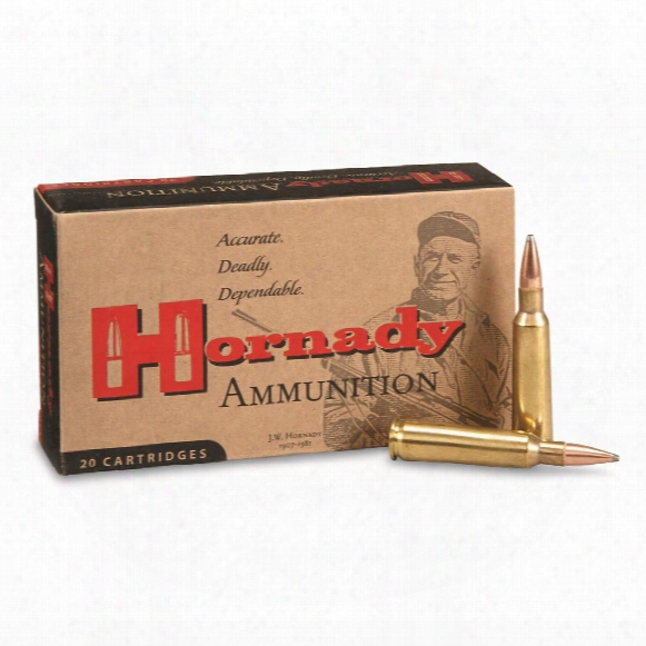 Hornady, .250 Savage, Interlock Sp, 100 Grain, 20 Rounds