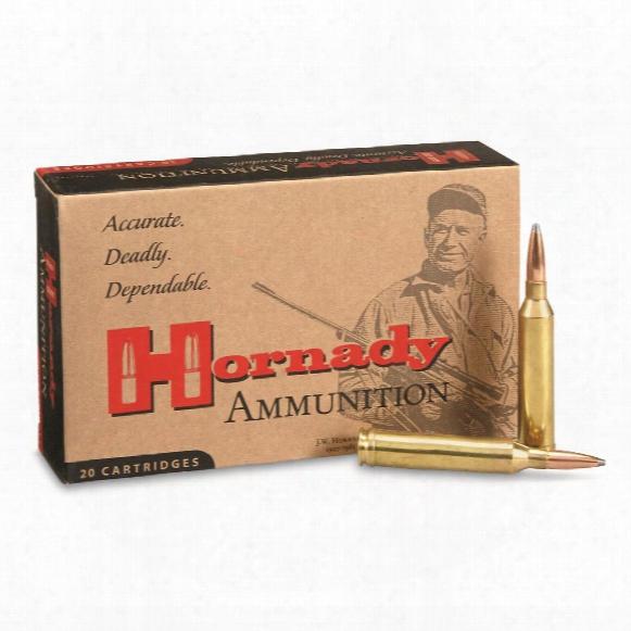 Hornady, .264 Winchester Magnum, Interlock Sp, 140 Grain, 20 Rounds