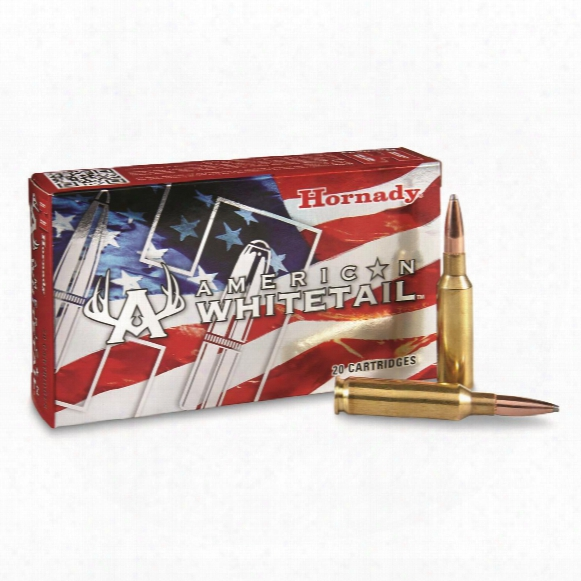 Hornady, American Whitetail, 6.5 Creedmooor, Interlock, 129 Grain, 20 Rounds