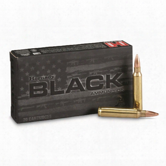 Hornady Black, .223 Remington, Fmj, 62 Grain, 20 Rounds