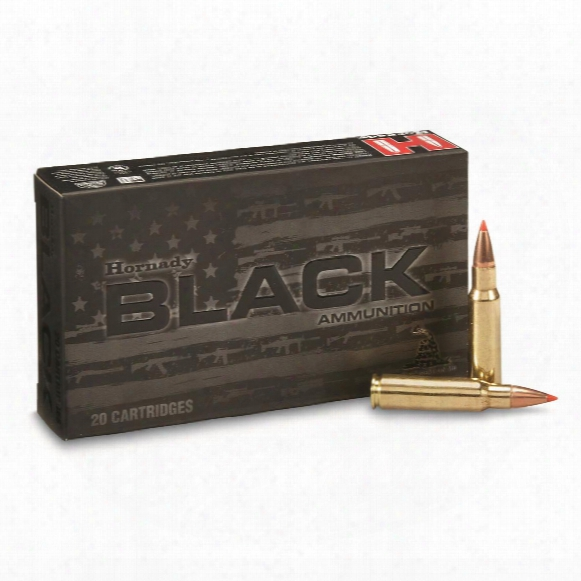Hornady Black, 6.8mm Spc, V-max, 110 Grain, 20 Rounds