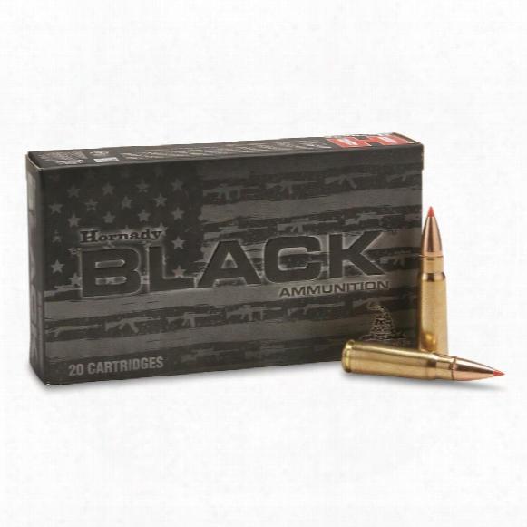Hornady Black, 7.62x39mm, Sst, 123 Grain, 20 Rounds