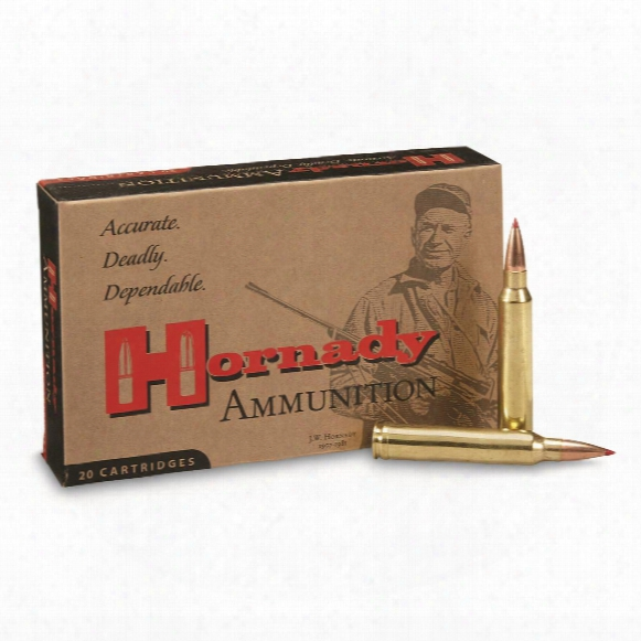 Hornady Precision Hunter, .300 Winchester Magnum, Eld Match, 178 Grain, 20 Rounds