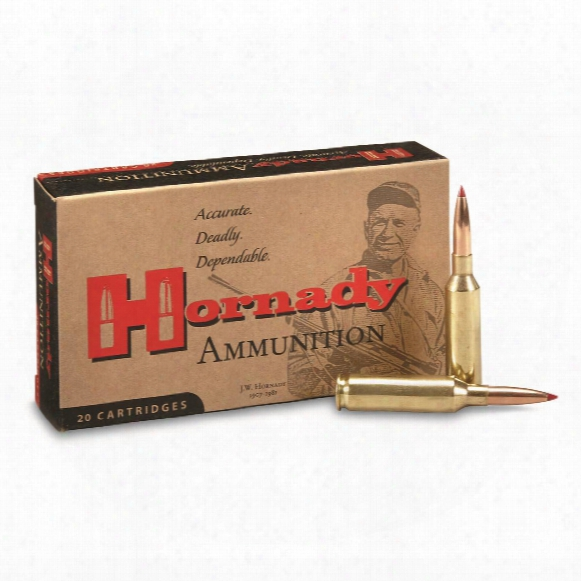 Hornady Precision Hunter, 6mm Creedmoor, Eld Match, 108 Grain, 20 Rounds