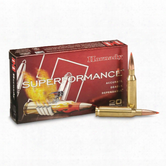 Hornady, Superformance, .206 Remington, Sst, 129 Grain, 20 Rounds