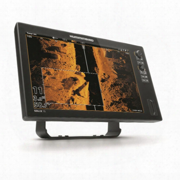 Humminbird Solix 15 Si, Chirp Mega Gps Fish Finder