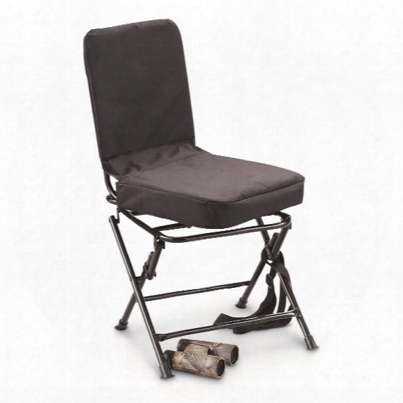 Huntrite Big Boy Oversized Swivel Hunting Blind Chair