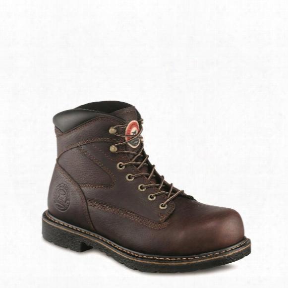 """Irish Setter Men's Farmington 6"""" Steel Toe Work Boots"""