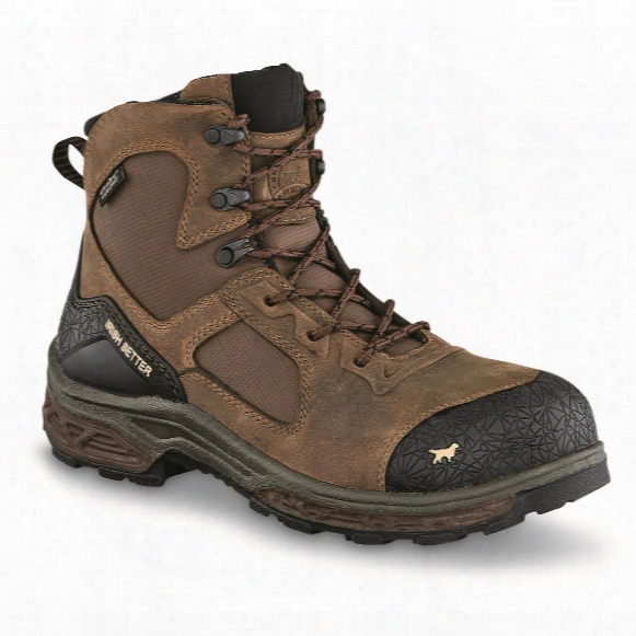 "Irish Setter Men's Kasota Waterproof 6"" Safety Toe Work Boots"
