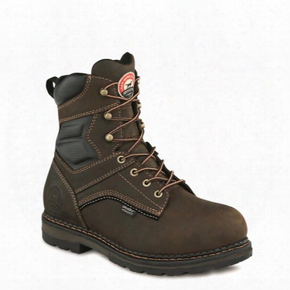 "Irish Setter Men's Ramsey Waterproof 8"" Safety Toe Work Boots"