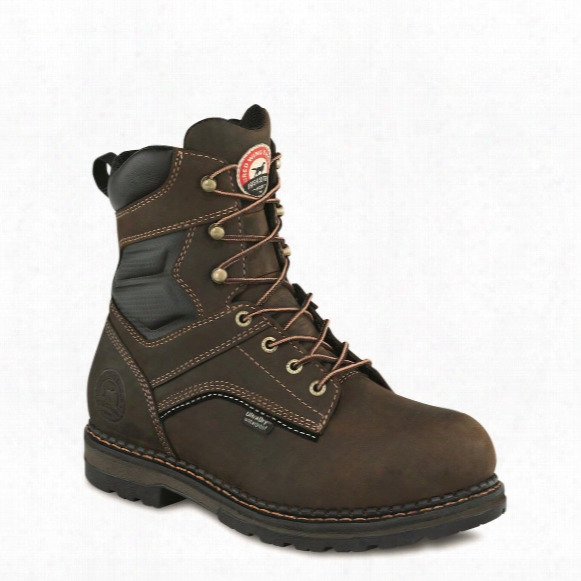 "Irish Setter Men's Ramsey Waterproof 8"" Work Boots"