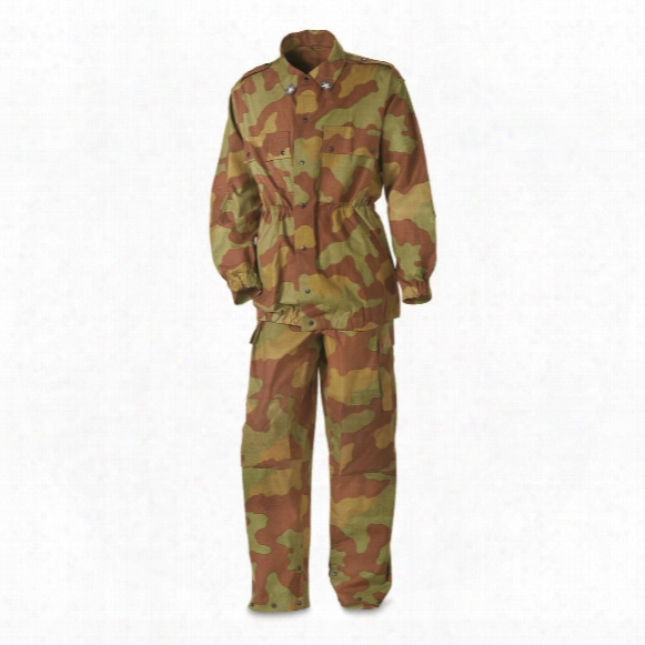 Italian Military Surplus San Marco Jacket And Pants Set, New