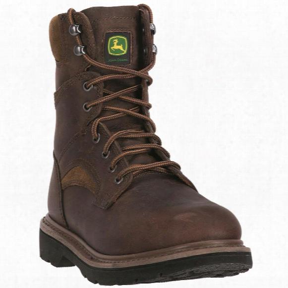 "John Deere Men's 8"" Lace-up Work Boots"