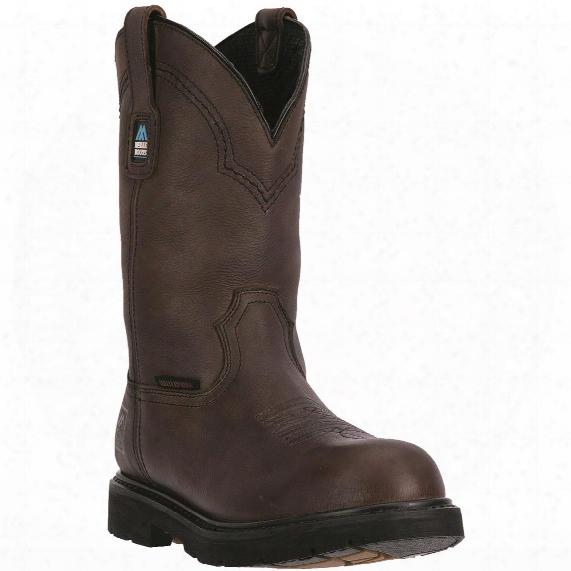 "Mcrae Men's Waterproof 11"" Pull-on Work Boots"