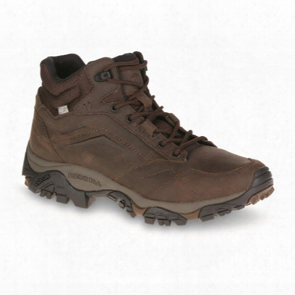 Merrell Men's Moab Aventure Waterproof Mid Hiking Boots