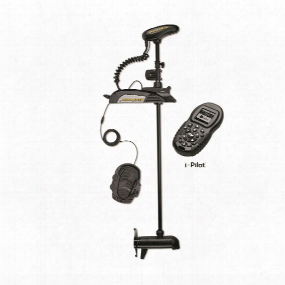 "Minn Kota Terrova 55 Lb. Us2 I-pilot Trolling Motor, 12v, 45"" Shaft Or 54"" Shaft"