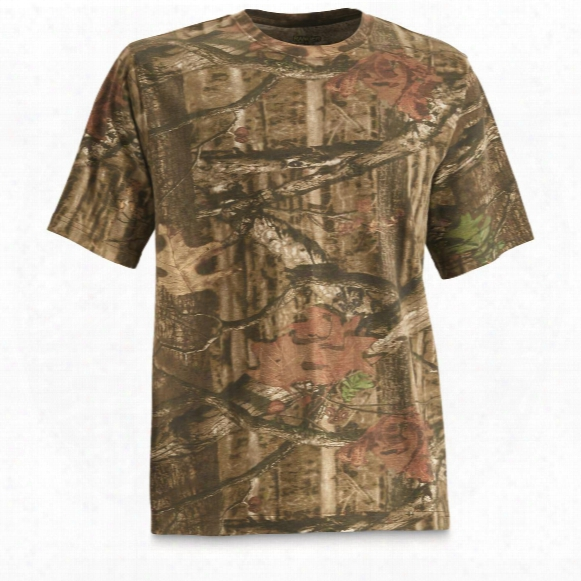 Ranger Men's Cotton Camo T-shirt, Mossy Oak Break-up Infinity