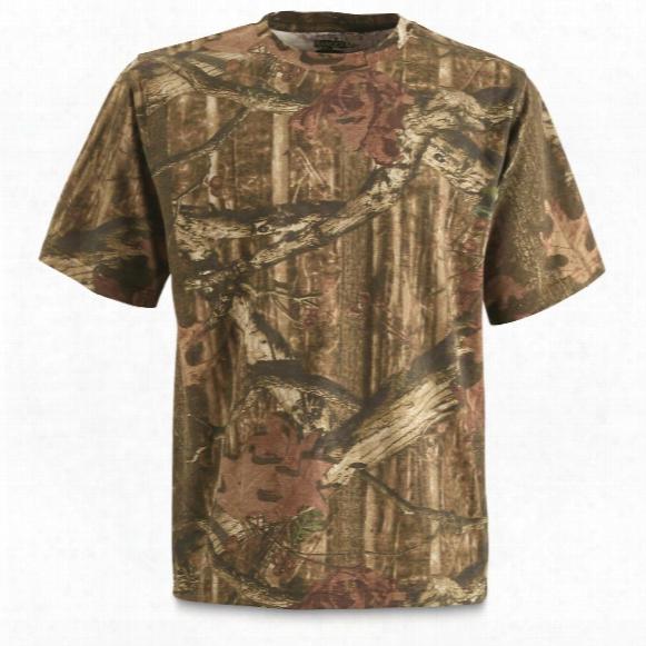 Ranger Men's Cotton/polyester Camo T-shirt, Mossy Oak Break-up Infinity