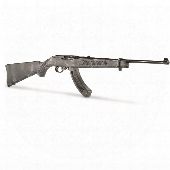 Ruger 10/22 Kryptek Typhon, Semi-automatic, .22lr, Rimfire, With Bx-25 Magazine, 25+1 Rounds