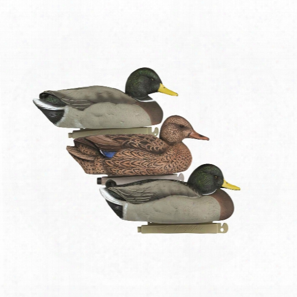 Tanglefree Flight Series Flight Mallard Decoys, 6 Pack