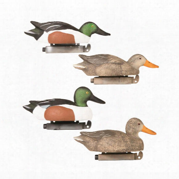Tanglefree Pro Series Northern Shoveler Decoys, 6 Pack