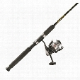 Pinnacle PowerTip Gold and Shimano FX Front Drag Spinning 6' Rod and Reel Combo