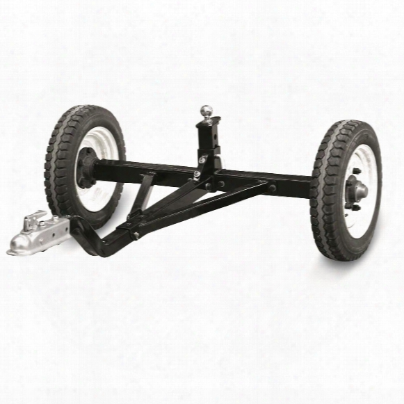 Tow Tuff Atv Weight Distributing Adjustable Trailer Dolly, 1,200 Lb.