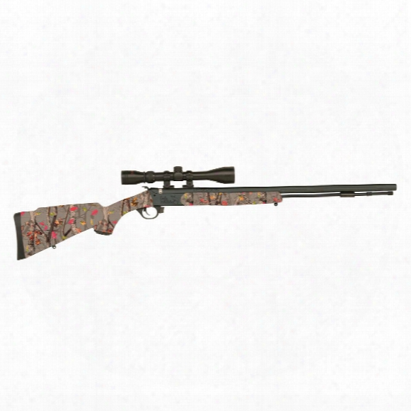 Traditions Lady Whitetail Compact/youth Muzzleloader, .50 Caliber, 3-9x40mm Scope