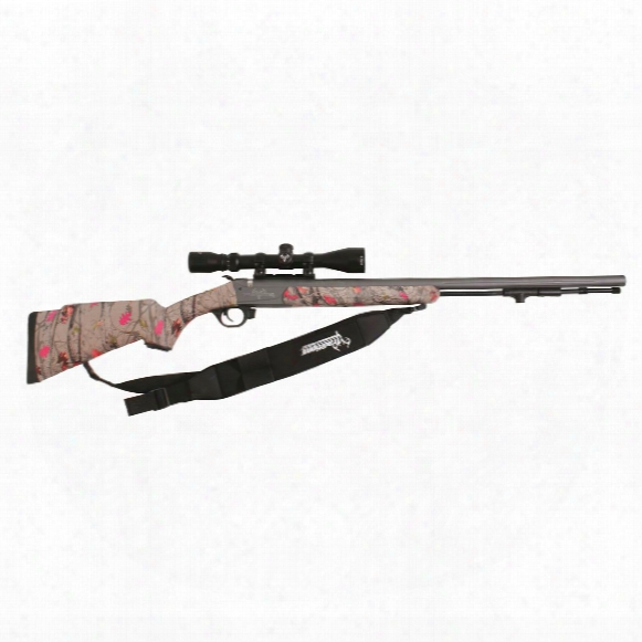 Traditions Limited Edition Lady Whitetail Muzzleloader, .50 Caliber, Hot Leaf/cerakote, 3-9x40 Scope