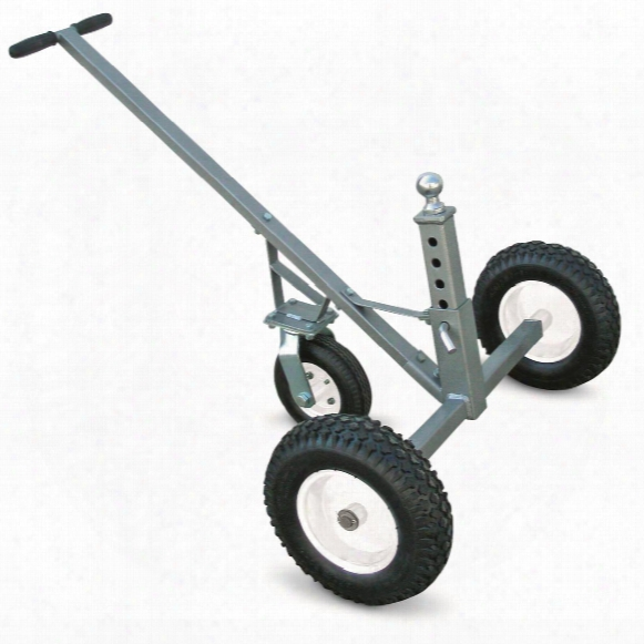 Ultra-tow 3 Wheel Adjustable Trailer Dolly, 800 Lb. Capacity