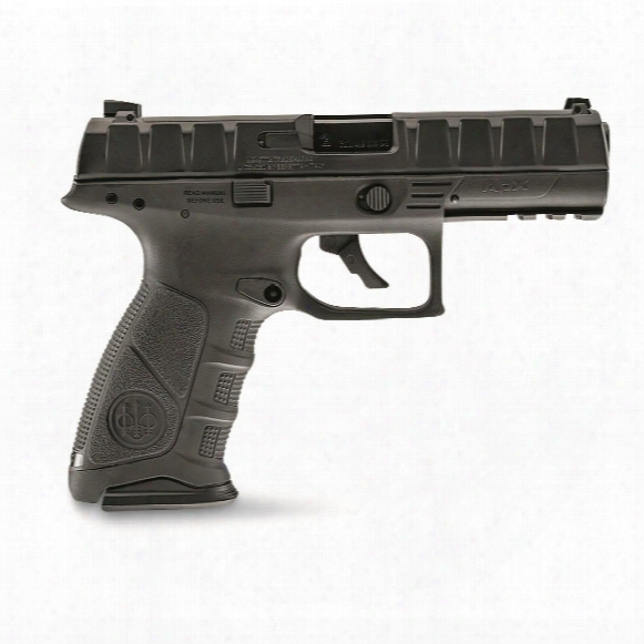 "Umarex Beretta Apx Bb Pistol, Striker Fired, .177 Caliber, 3.5"" Barrel, 20 Rounds"