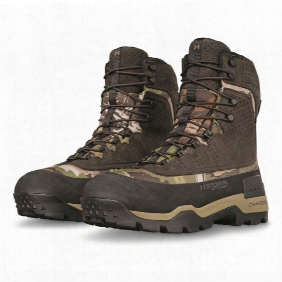 Under Armour Men's Brow Tine 2.0 Waterproof Insulated Hunting Boots, 1,200 Gram