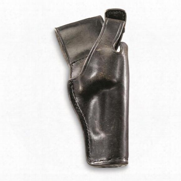 U.s. Military Surplus .38 Caliber Leather Holster, Like New