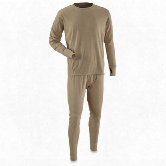 U.s. Military Surplus Ecwcs Gen 4 Level 1 Base Layer Set, New