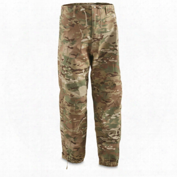 U.s. Military Surplus Ecwcs Gen 4 Level 6 Rain Pants, New