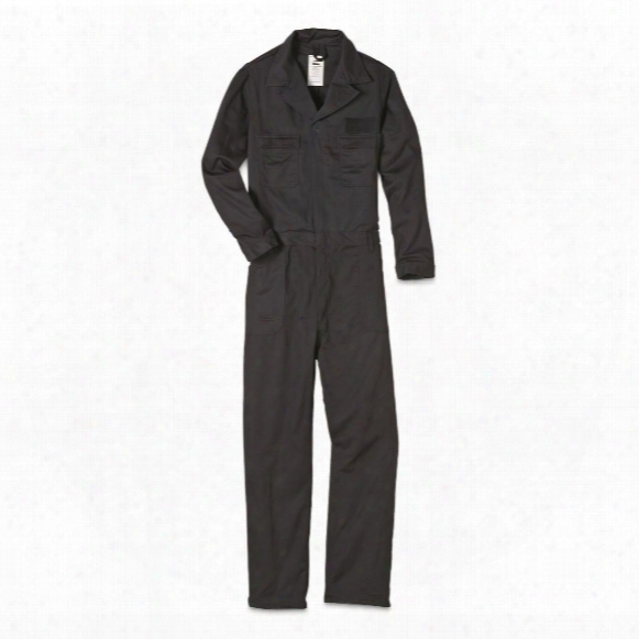 U.s. Military Surplus Flame Resistant Coveralls, New