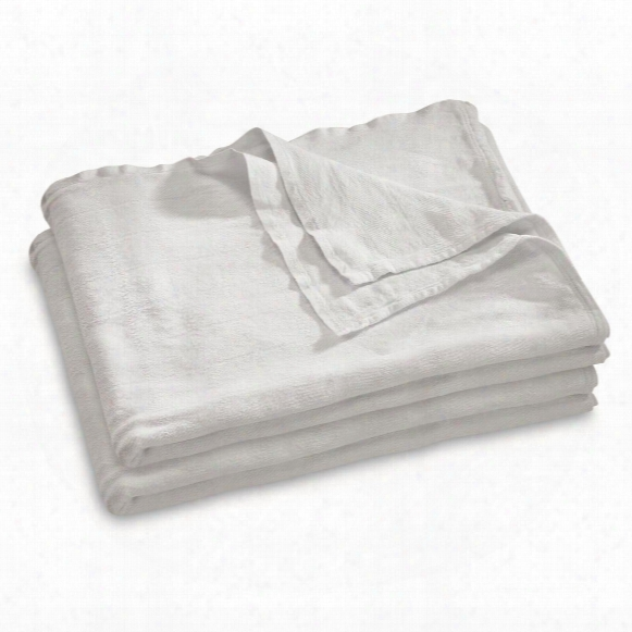U.s. Military Surplus Hospital Bed Blankets, 2 Pack, Like-new