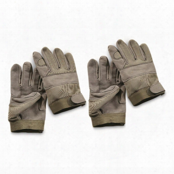 U.s. Military Surplus Mechanic's Gloves, 2 Pack, New
