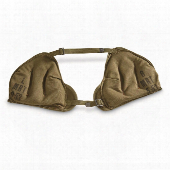 U.s. Military Surplus Mortar Shoulder Pad Set, New