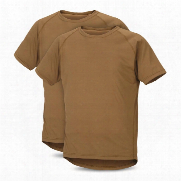 U.s. Military Surplus Pcu Compression T-shirts, 2 Pack, New