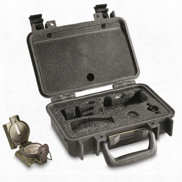 U.s. Military Surplus Pelican Waterproof Hard Case, Used