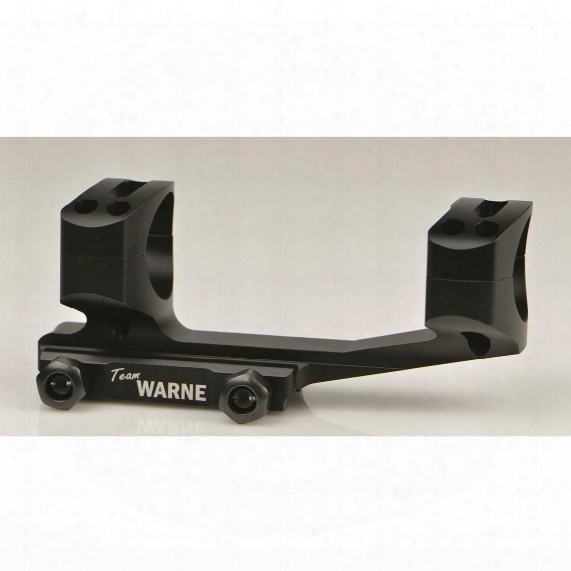 Warne Gen 2 Extended Skeletonized Msr Mount, Black